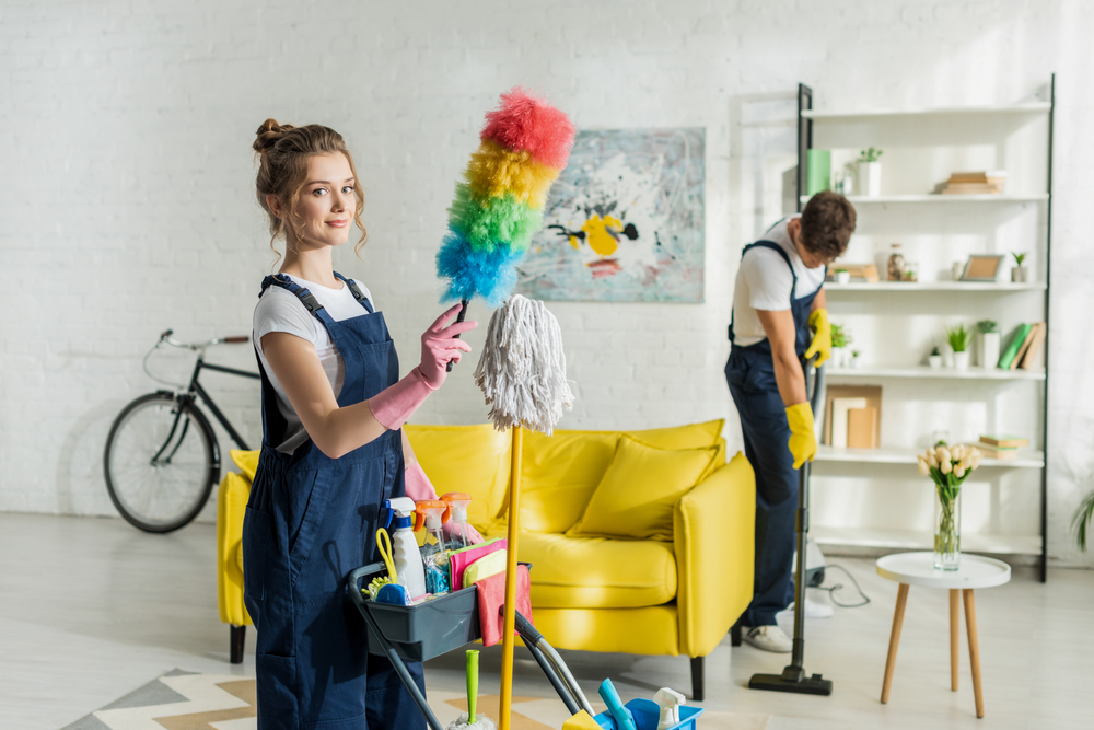 cleaning mistake — using a duster