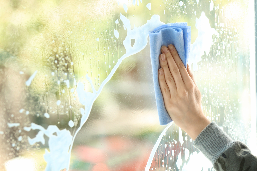 cleaning mistakes — cleaning cloth